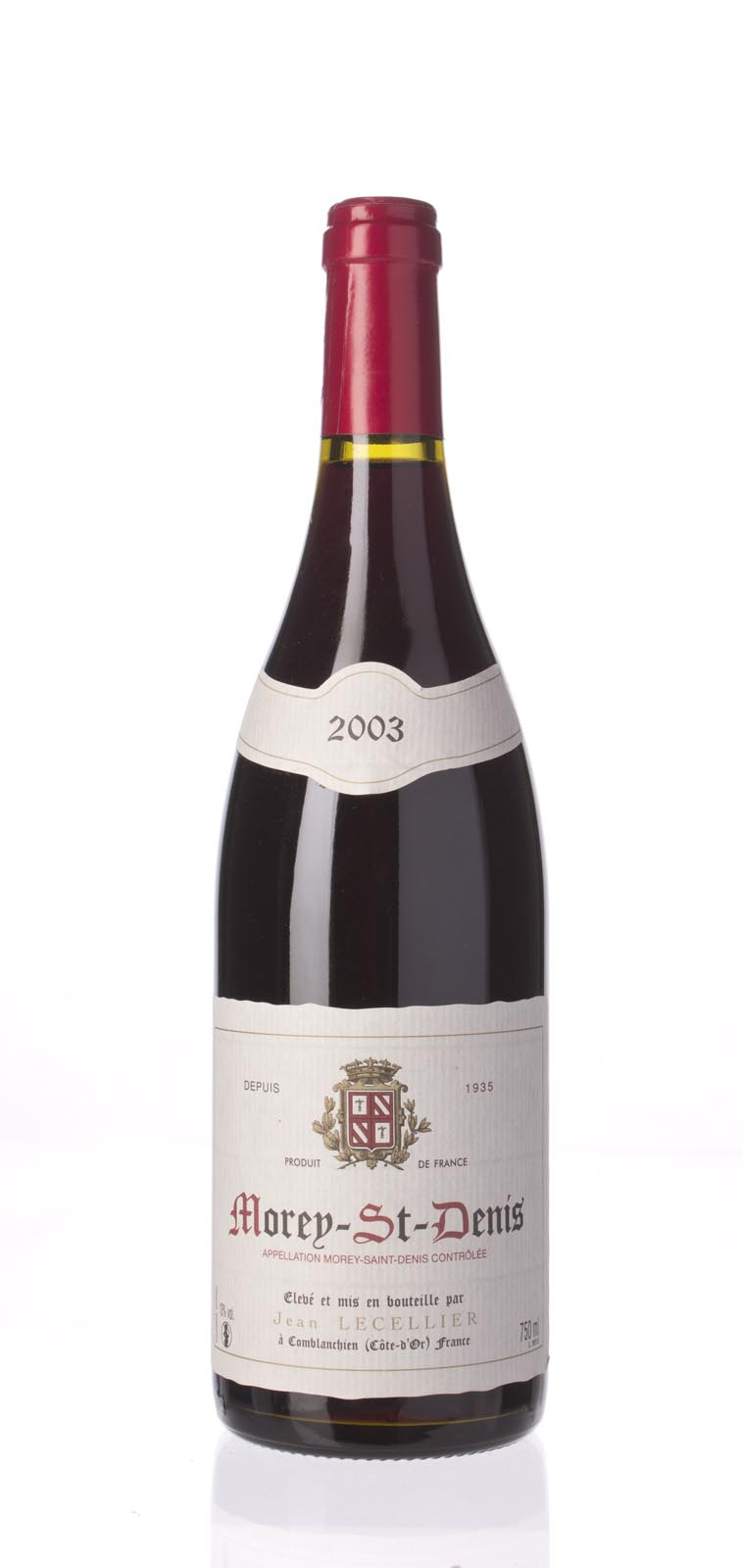 Jean Lecellier Morey St. Denis 2003, 750mL () from The BPW - Merchants of rare and fine wines.