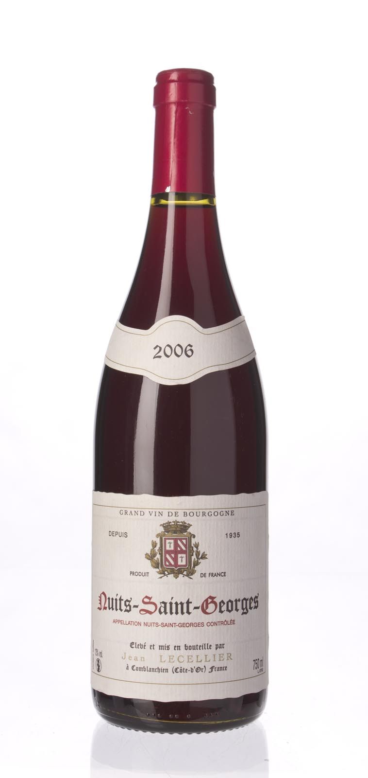 Jean Lecellier Nuits St. Georges 2006, 750mL () from The BPW - Merchants of rare and fine wines.