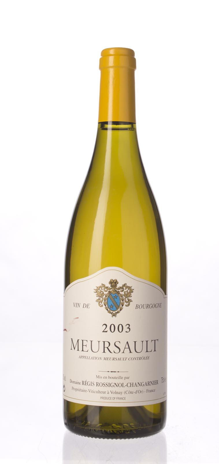 Rossignol Changarnier Meursault 2003, 750mL () from The BPW - Merchants of rare and fine wines.