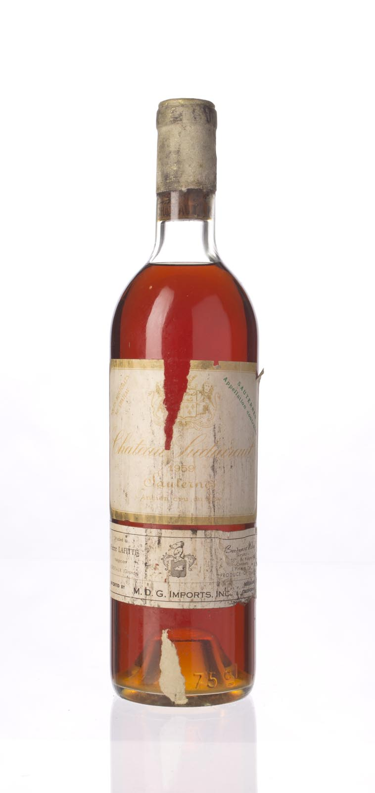 Chateau de Suduiraut 1959, 750mL (WS93) from The BPW - Merchants of rare and fine wines.
