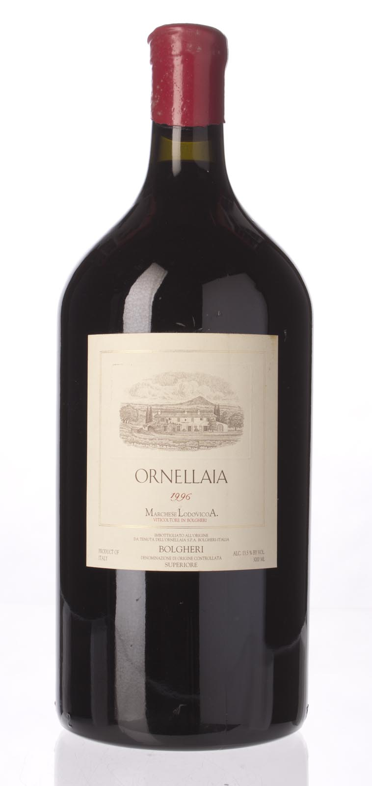 Tenuta dell`Ornellaia `Ornellaia` 1996, 3L (WS94) from The BPW - Merchants of rare and fine wines.