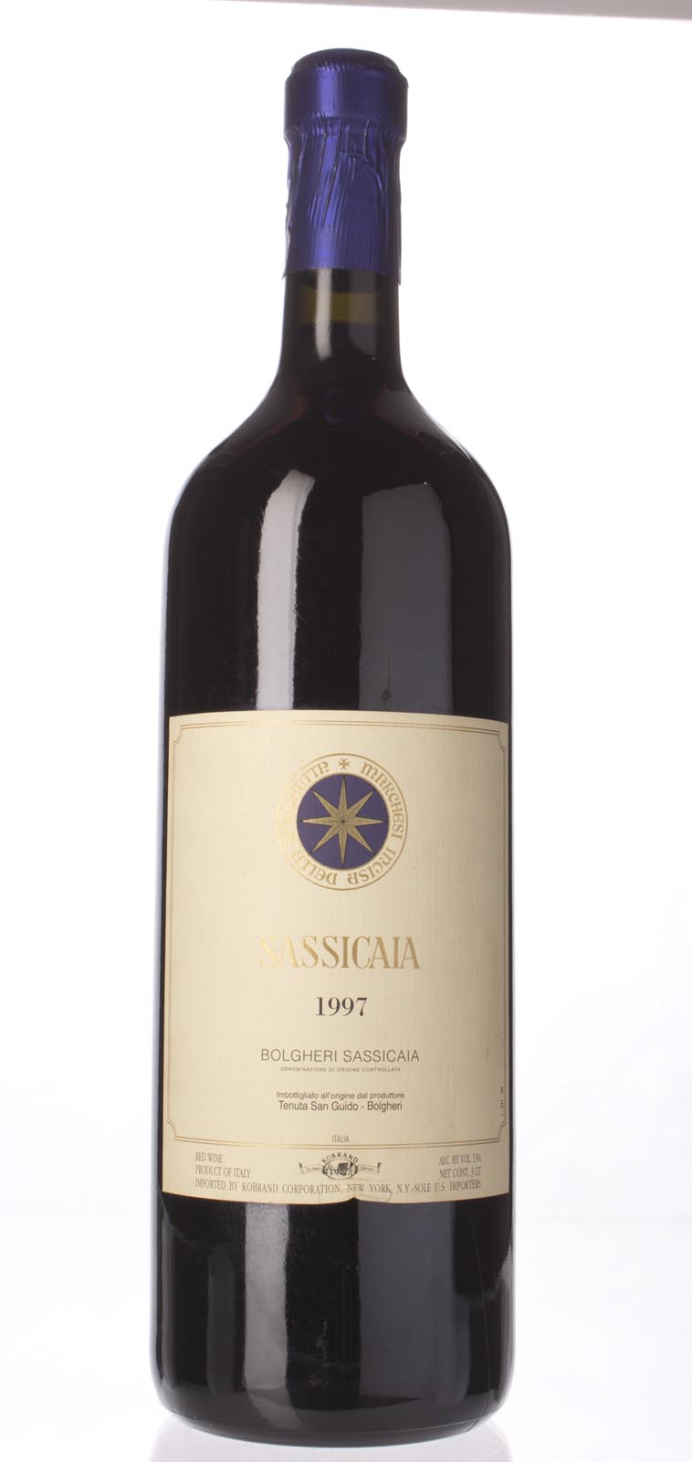 Tenuta San Guido Sassicaia 1997, 3L (WS93) from The BPW - Merchants of rare and fine wines.