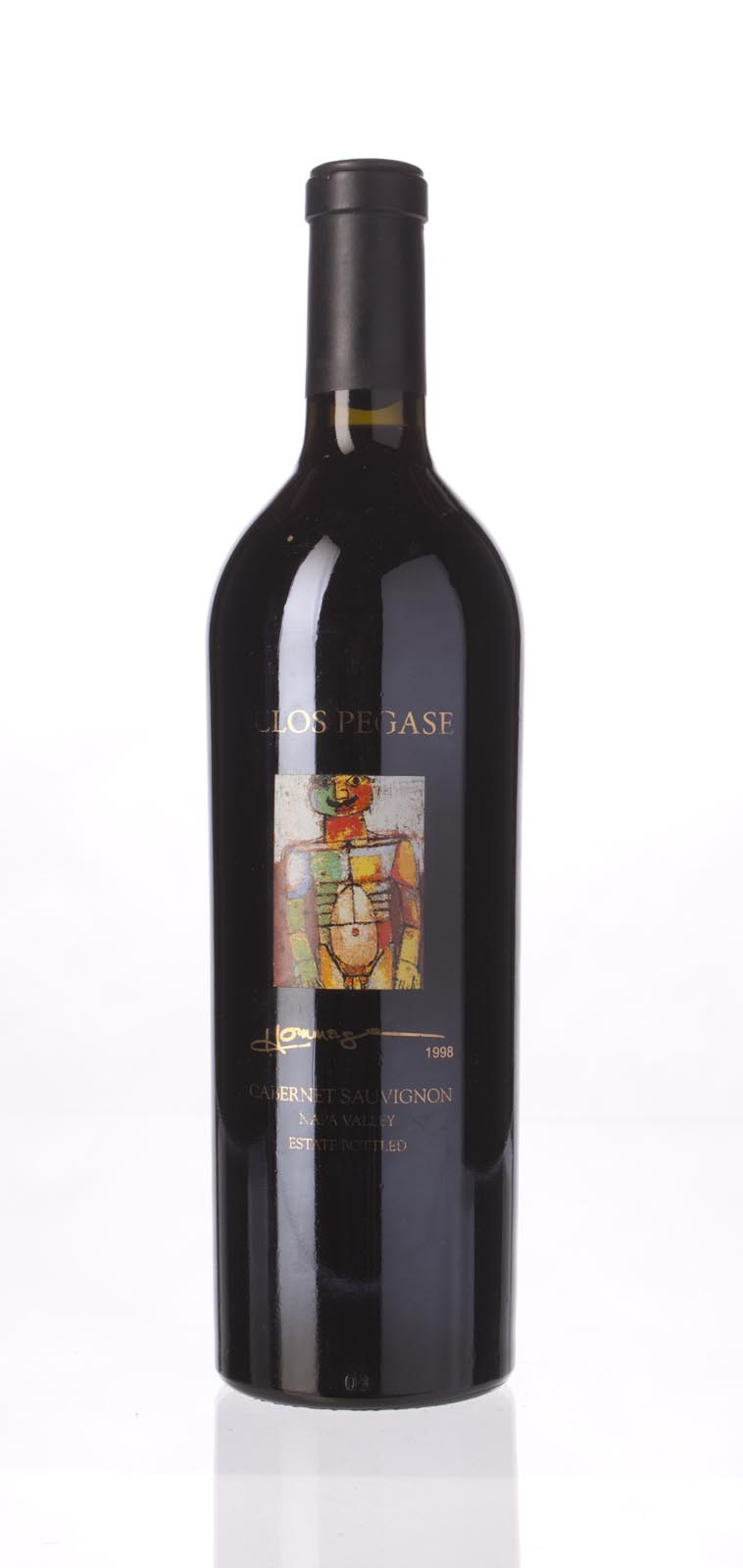 Clos Pegase Cabernet Sauvignon Hommage Reserve Artists Series 1998, 750mL () from The BPW - Merchants of rare and fine wines.