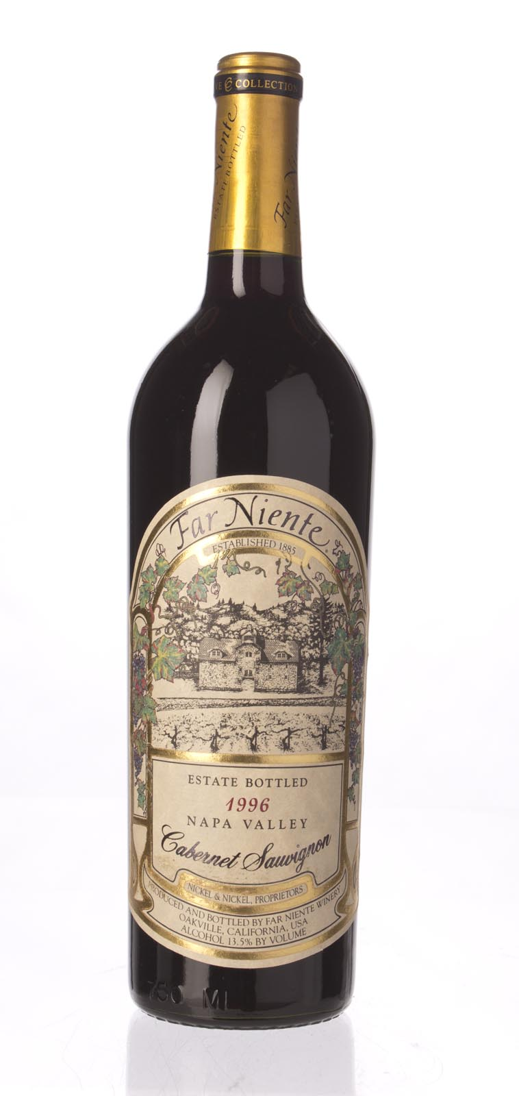 Far Niente Cabernet Sauvignon Cave Collection 1996, 750ml () from The BPW - Merchants of rare and fine wines.