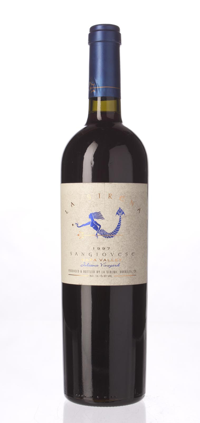 La Sirena Sangiovese Juliana Vineyard 1997, 750mL (WA88) from The BPW - Merchants of rare and fine wines.