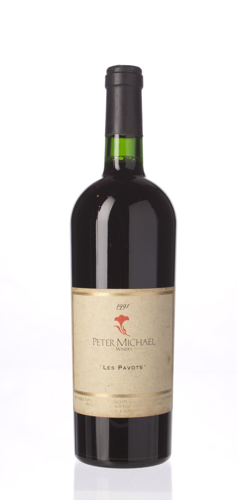 Peter Michael Winery Proprietary Red Les Pavots 1991, 750mL (WA91) from The BPW - Merchants of rare and fine wines.