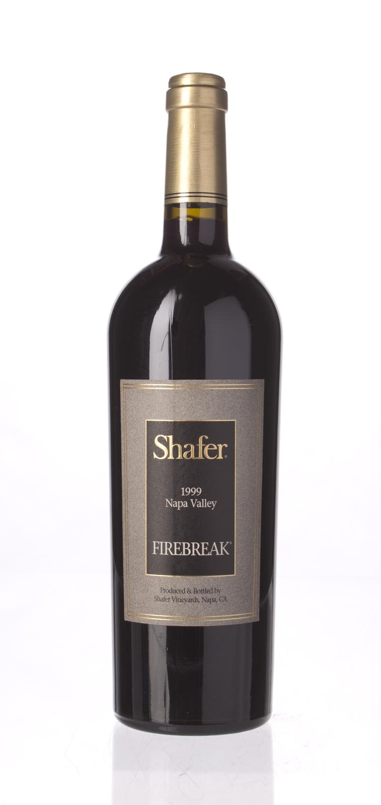 Shafer Firebreak Sangiovese 1999, 750mL (WA90, WS91) from The BPW - Merchants of rare and fine wines.