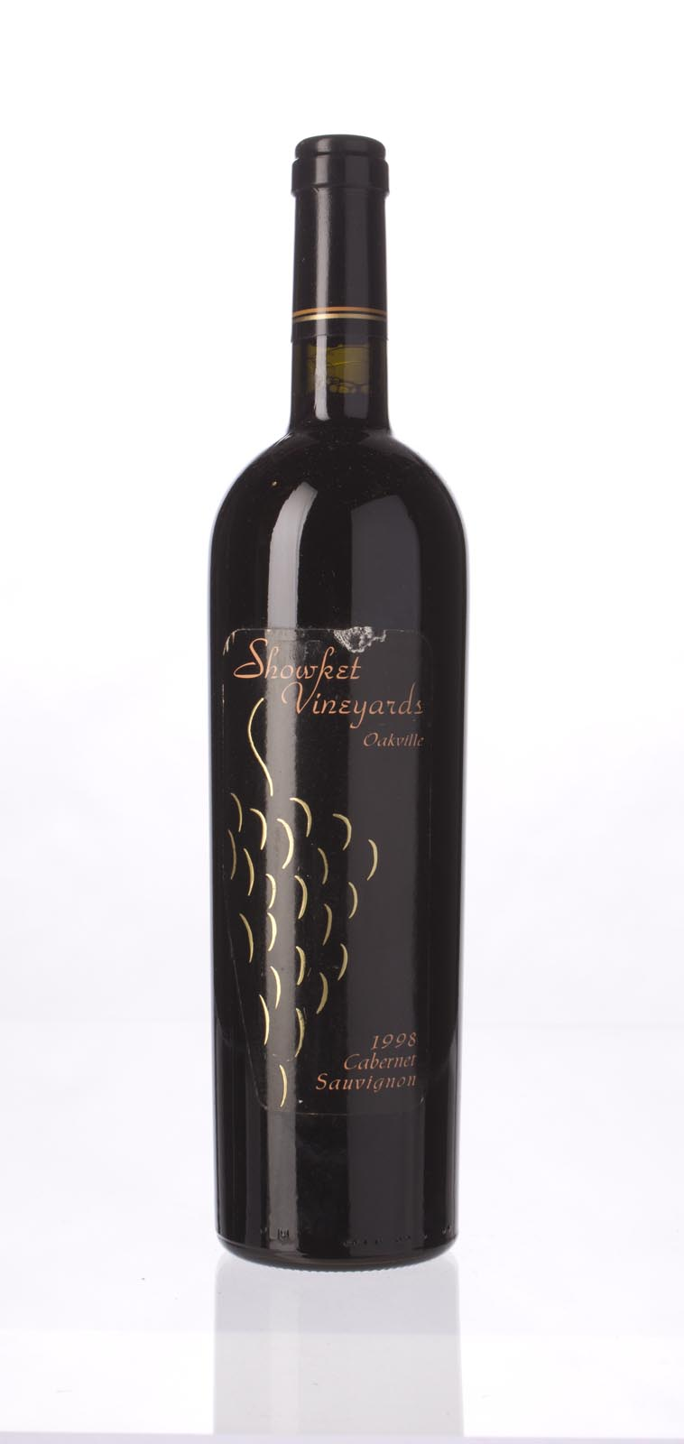 Showket Vineyards Cabernet Sauvignon Oakville 1998, 750mL (WA89) from The BPW - Merchants of rare and fine wines.