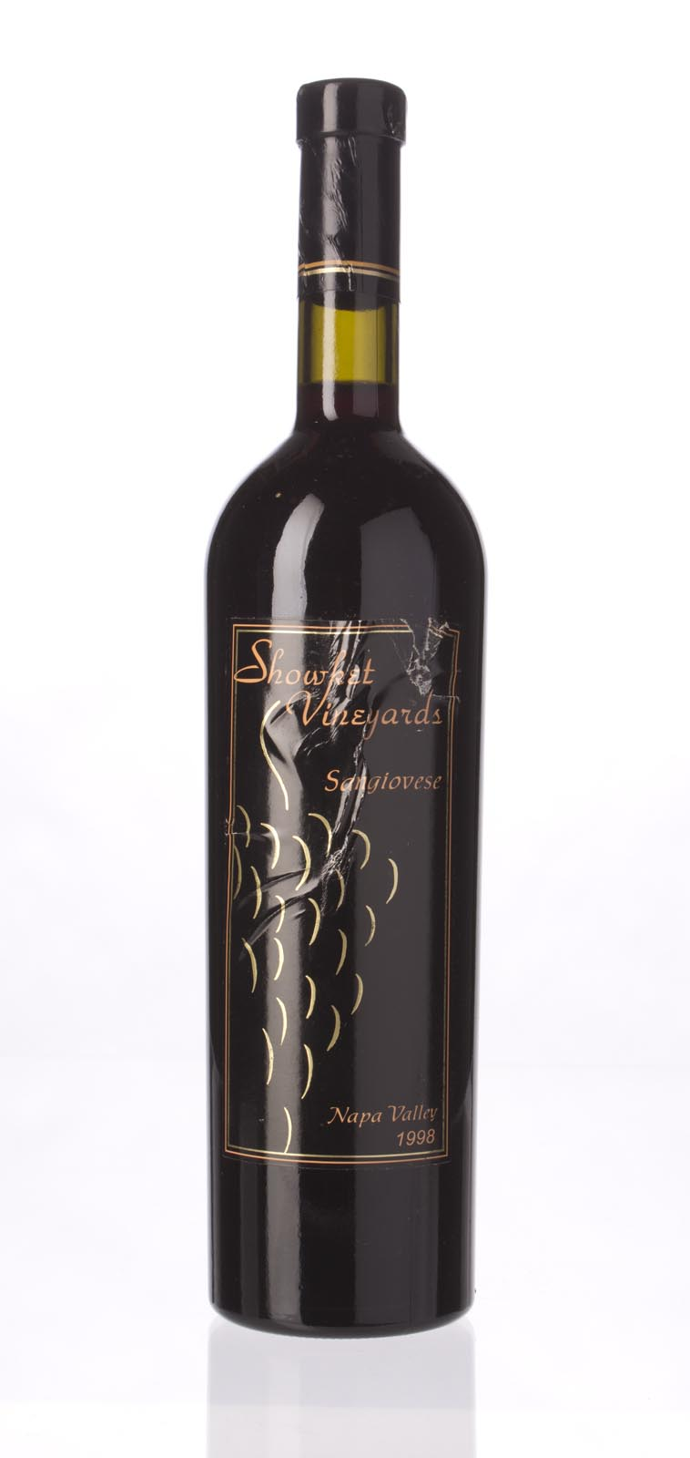 Showket Vineyards Sangiovese 1998, 750mL (ST90) from The BPW - Merchants of rare and fine wines.