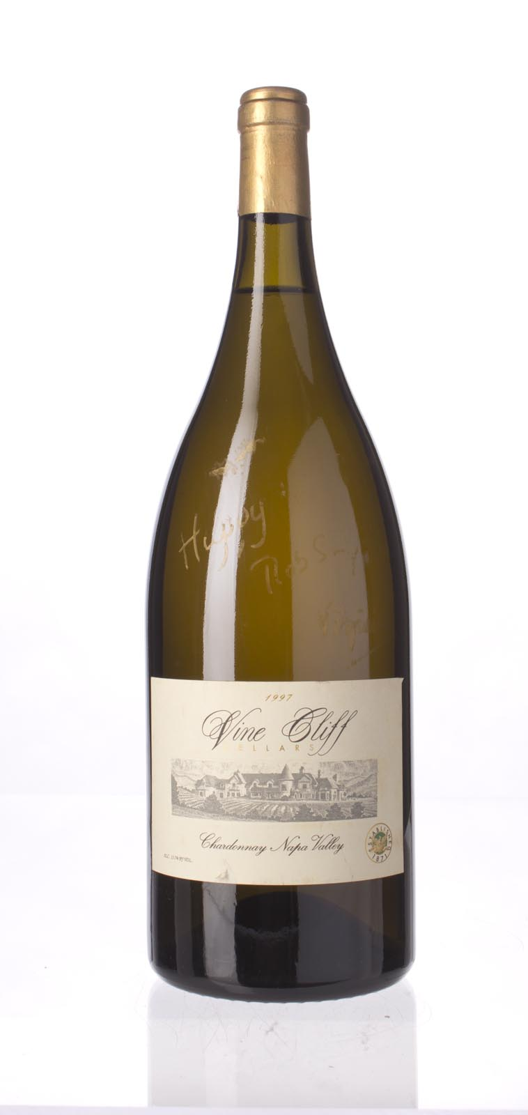 Vine Cliff Chardonnay Napa Valley 1997, 1.5L (WS92) from The BPW - Merchants of rare and fine wines.