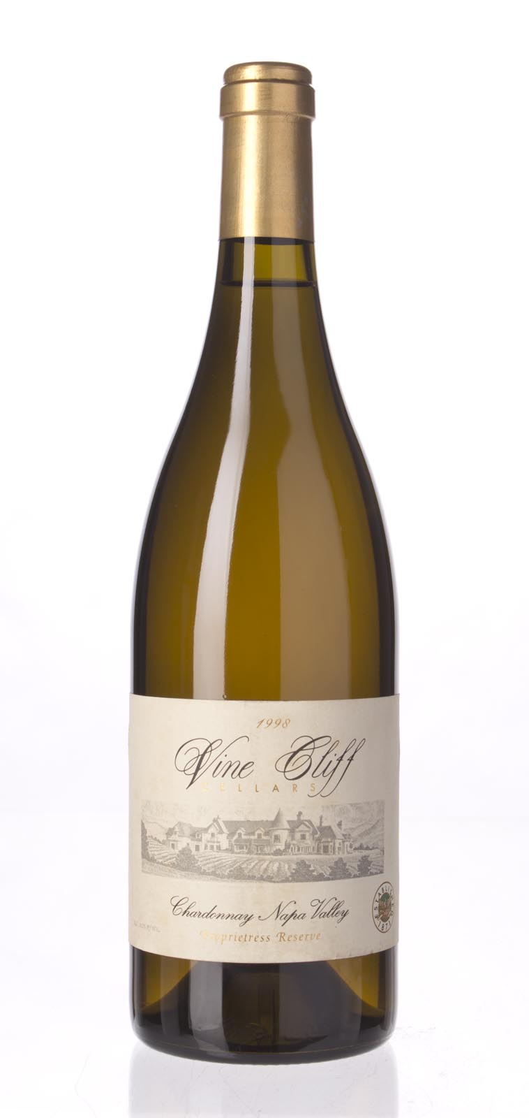 Vine Cliff Chardonnay Proprietress Reserve 1998, 750mL (WA89) from The BPW - Merchants of rare and fine wines.