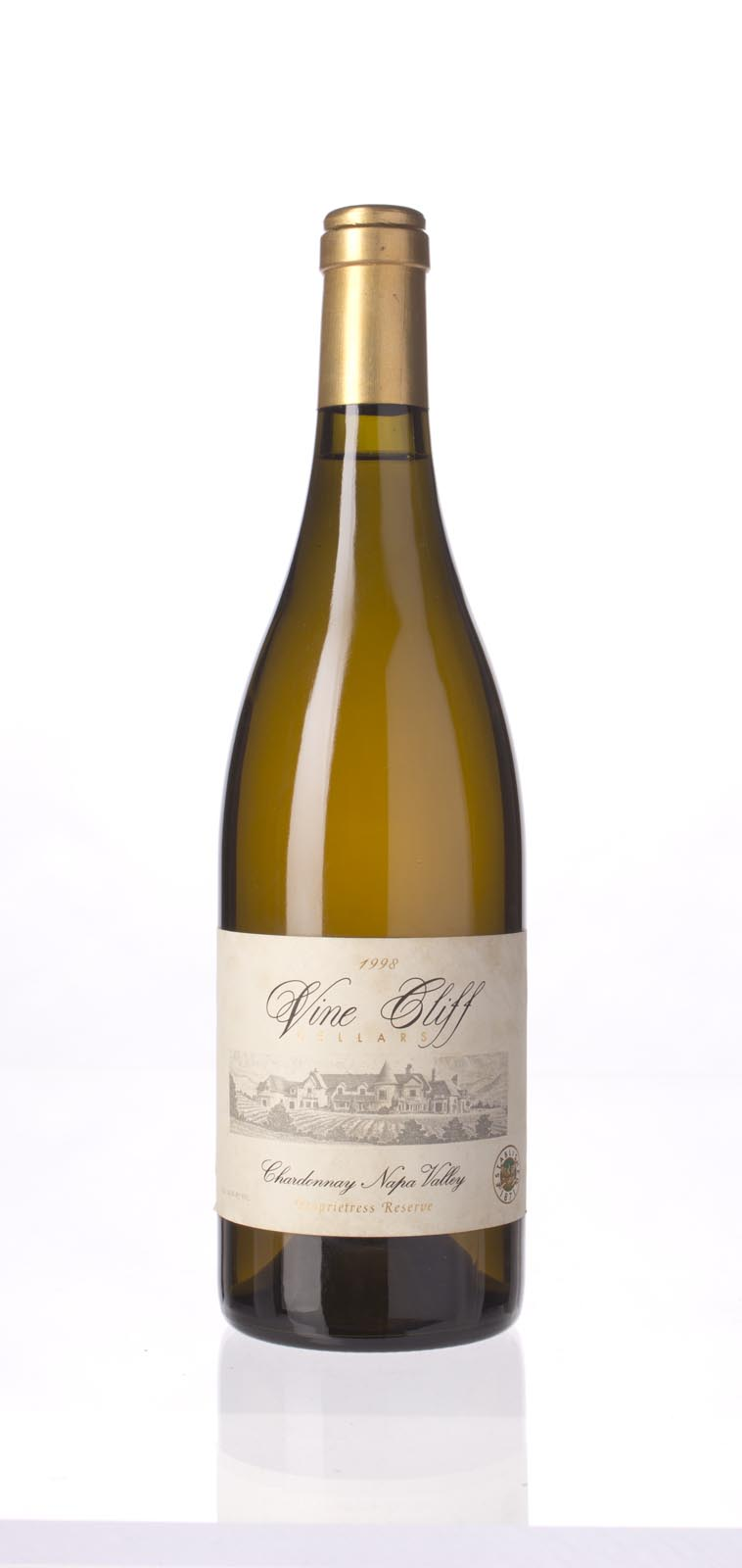 Vine Cliff Chardonnay Proprietress Reserve 1998,  (WA89) from The BPW - Merchants of rare and fine wines.