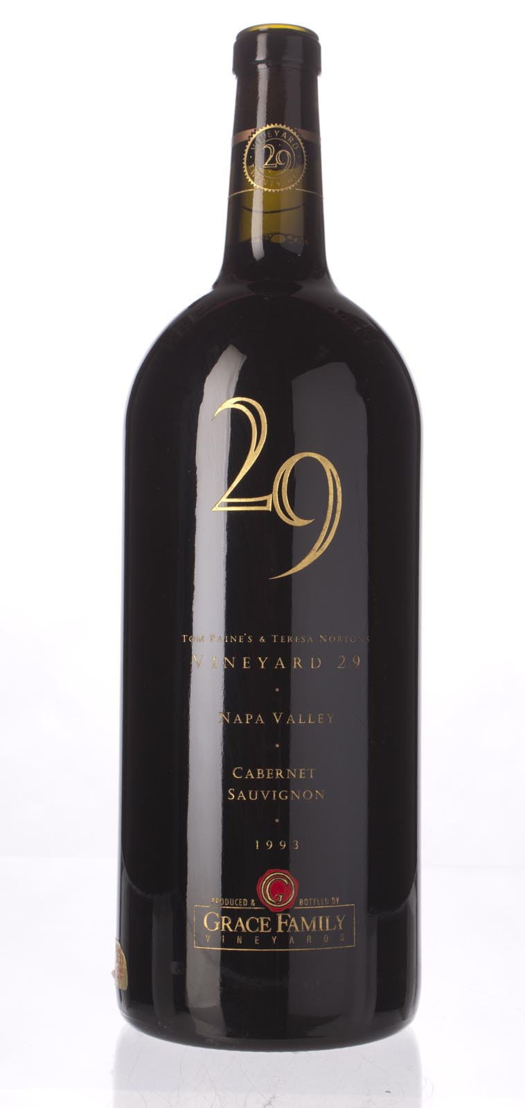 Vineyard 29 Cabernet Sauvignon Napa Valley 1993, 3L () from The BPW - Merchants of rare and fine wines.