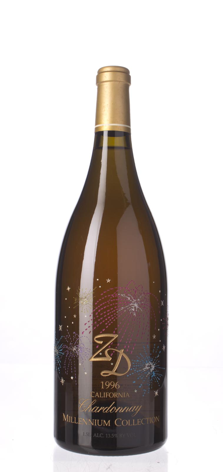 ZD Wines Chardonnay Millenium Collection 1996, 1.5L () from The BPW - Merchants of rare and fine wines.