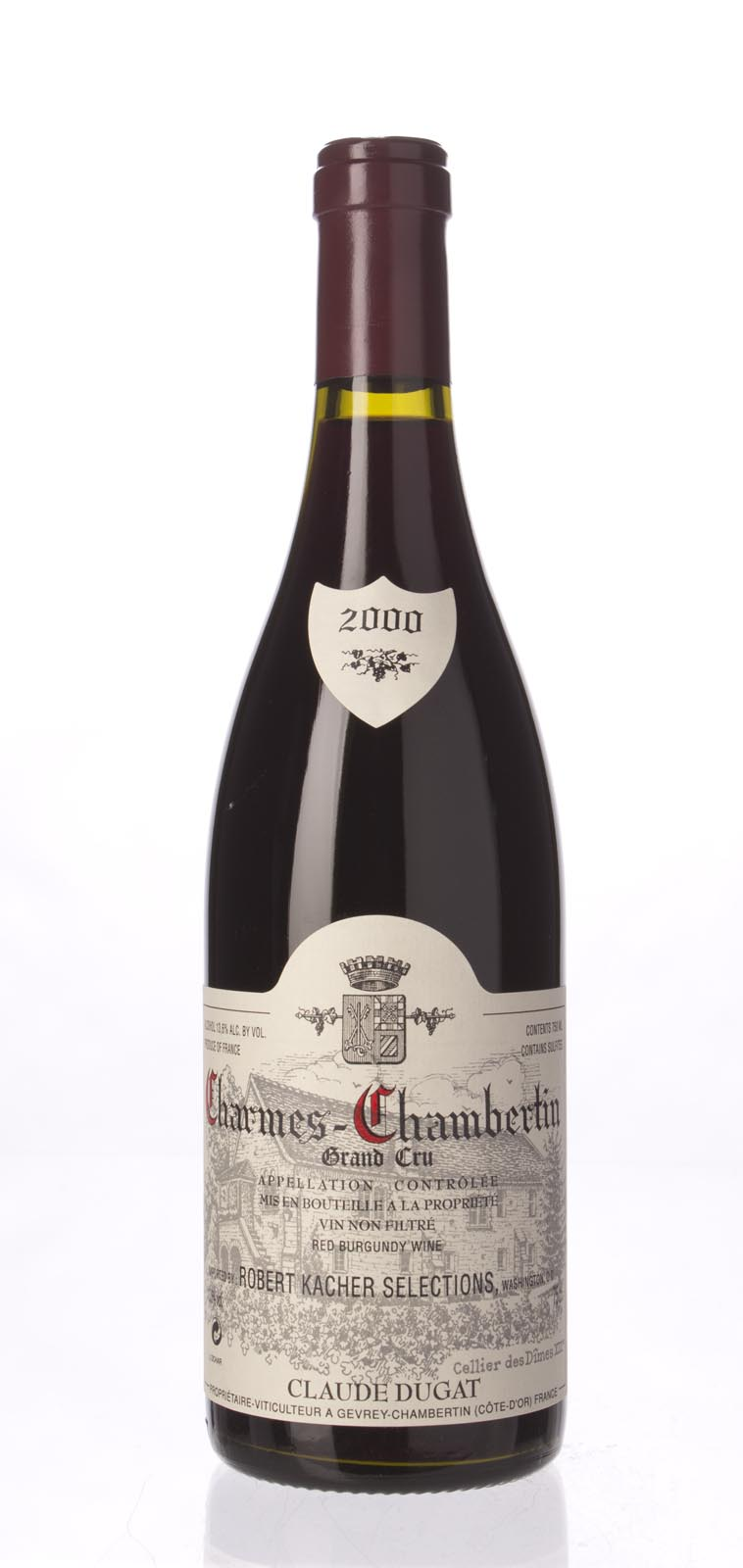 Domaine Claude Dugat Charmes Chambertin 2000, 750mL (WA94, ST95) from The BPW - Merchants of rare and fine wines.