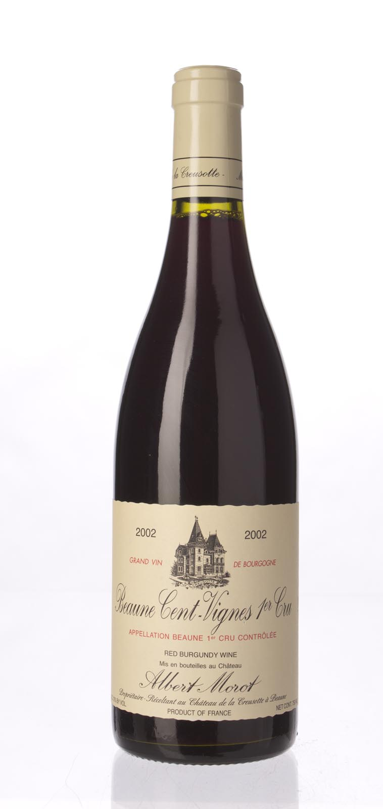Albert Morot Beaune Les Cent Vignes 2002, 750ml () from The BPW - Merchants of rare and fine wines.