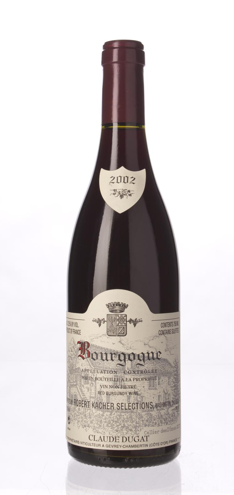 Domaine Claude Dugat Bourgogne 2002, 750mL () from The BPW - Merchants of rare and fine wines.