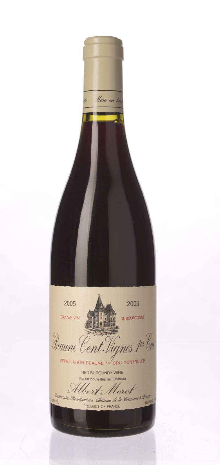 Albert Morot Beaune les Cent Vignes 2005, 750mL (ST91) from The BPW - Merchants of rare and fine wines.