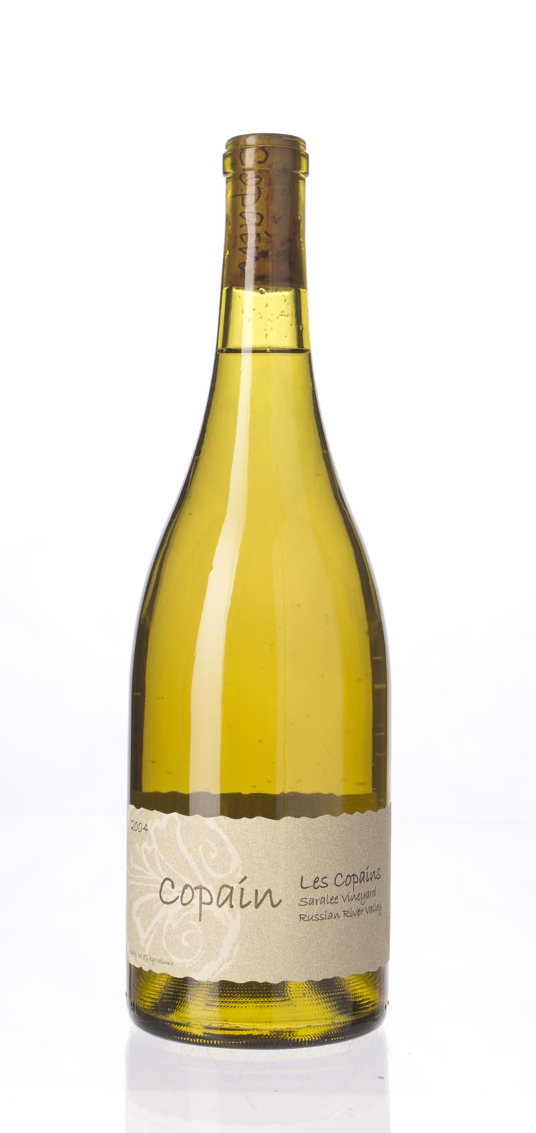 Copain Wines Proprietary White Les Copains Saralee`s Vineyard 2004, 750mL () from The BPW - Merchants of rare and fine wines.