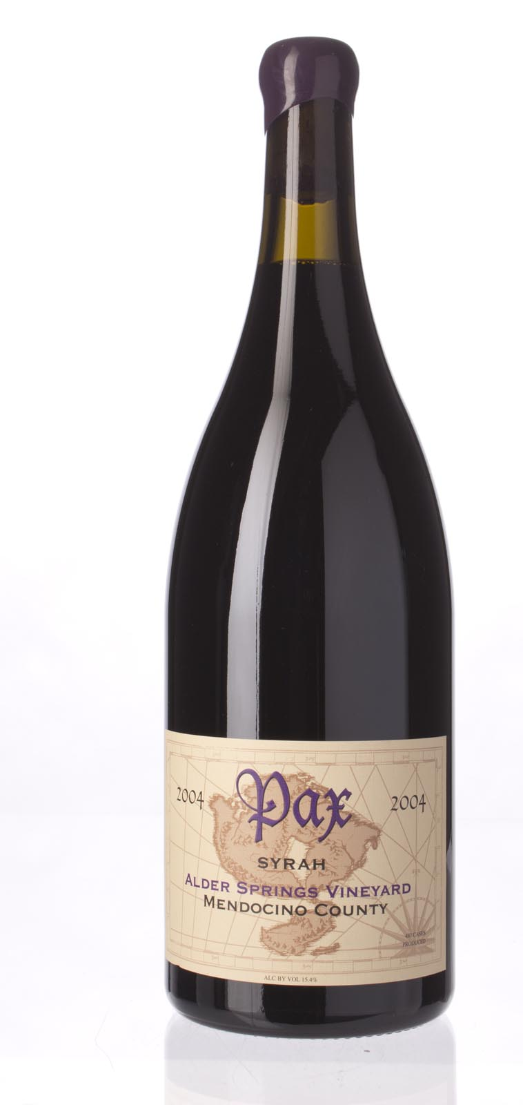 Pax Cellars Syrah Alder Springs Vineyard 2004, 1.5L (ST91) from The BPW - Merchants of rare and fine wines.