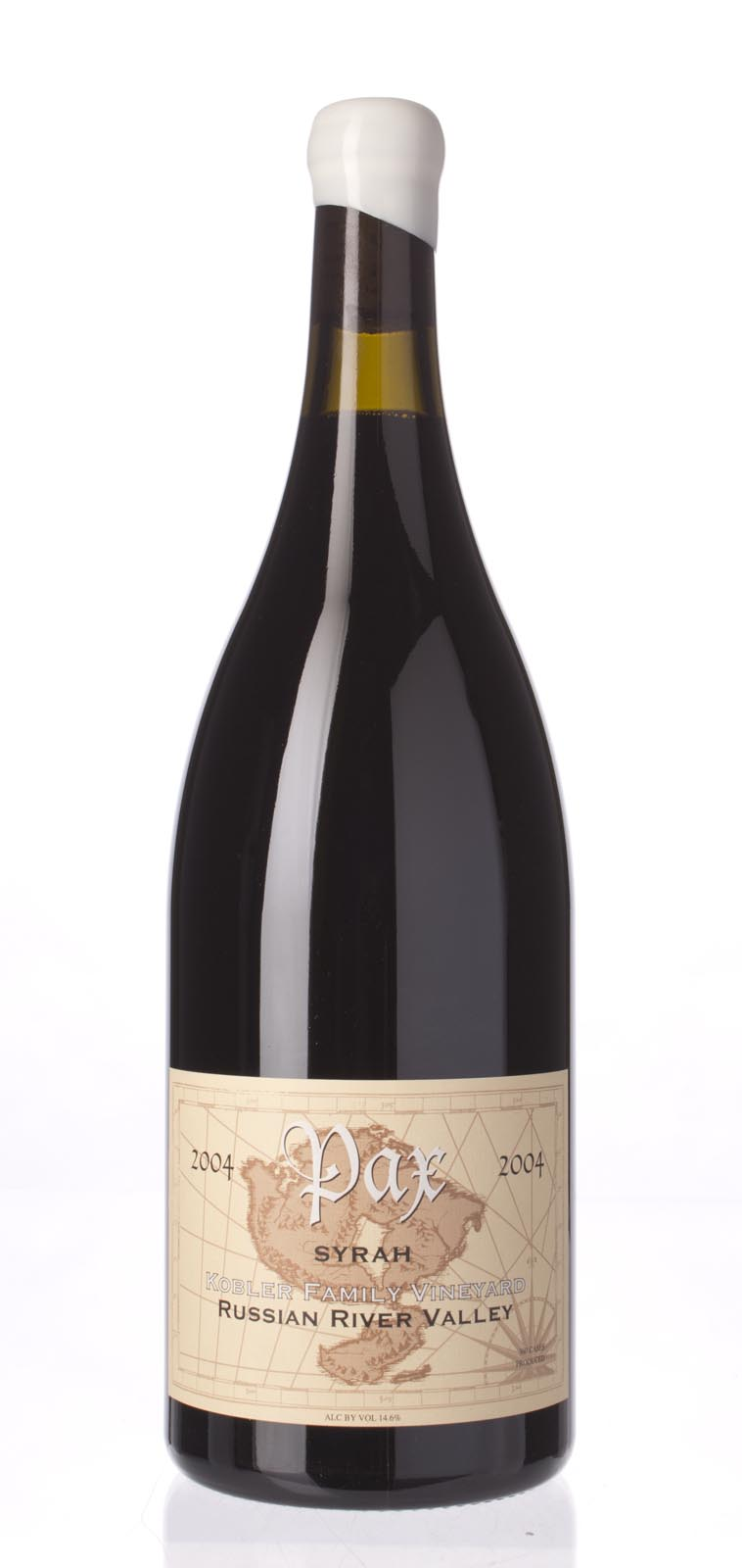 Pax Cellars Syrah Kobler Family Vineyard 2004, 1.5L (WA90, ST91+) from The BPW - Merchants of rare and fine wines.