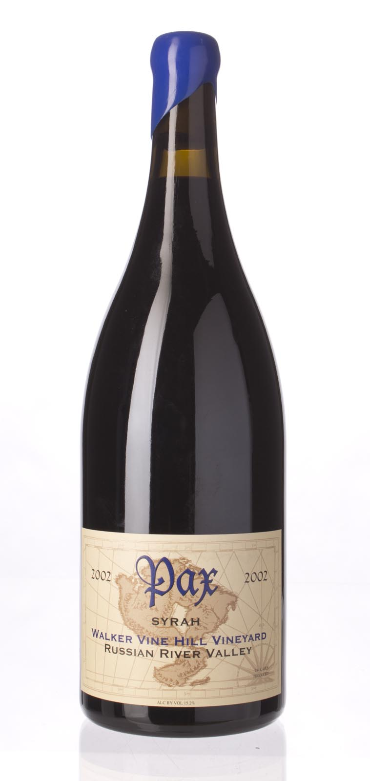 Pax Cellars Syrah Walker Vine Hill 2002, 1.5L (WA93, ST93, WS94) from The BPW - Merchants of rare and fine wines.