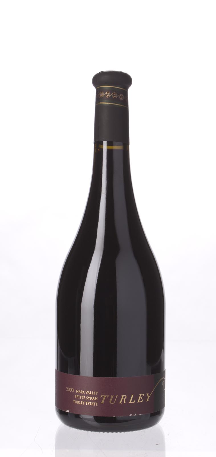 Turley Wine Cellars Petite Sirah Turley Estate 2003, 750mL (WA91-93) from The BPW - Merchants of rare and fine wines.