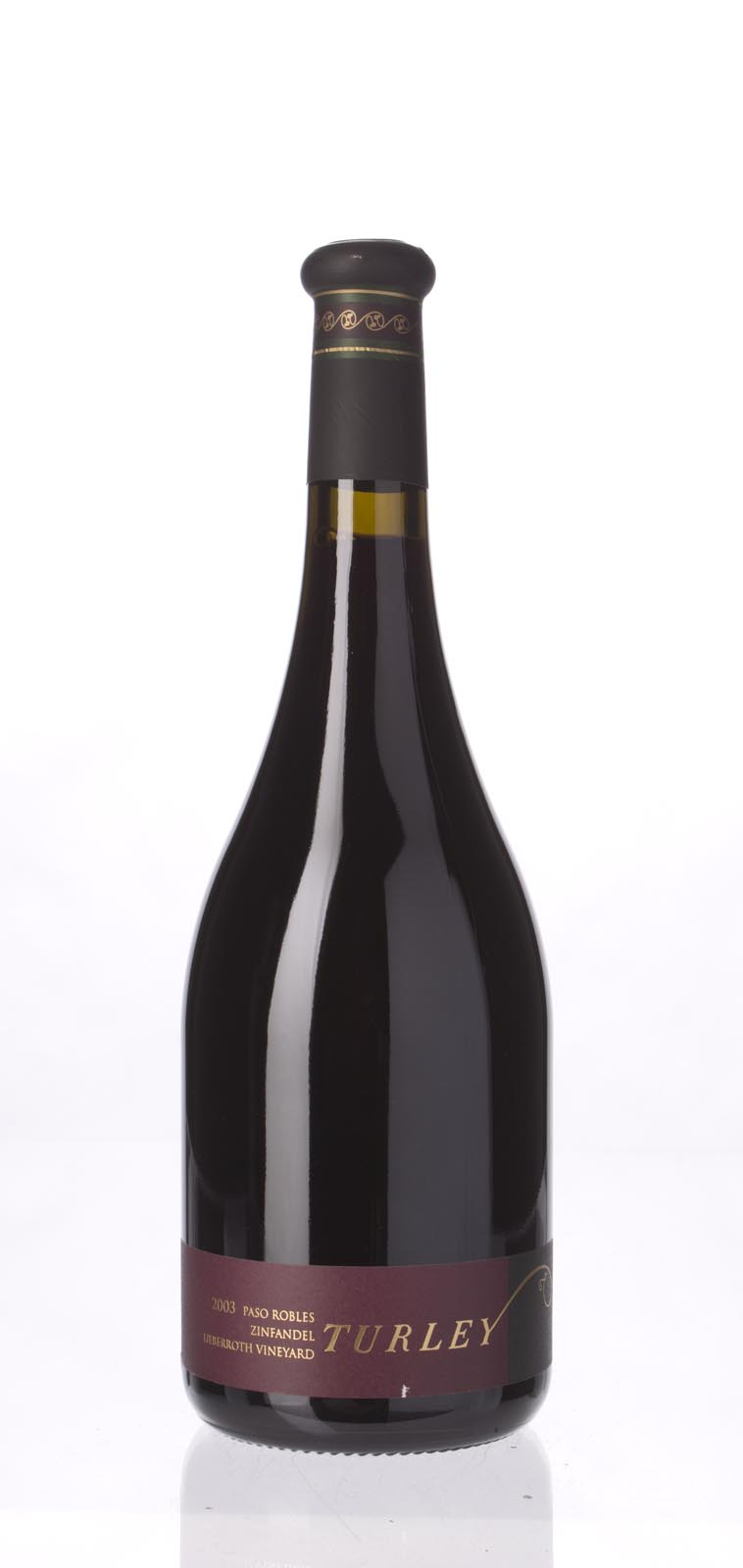 Turley Wine Cellars Zinfandel Ueberroth Vineyard 2003, 750mL (ST93) from The BPW - Merchants of rare and fine wines.