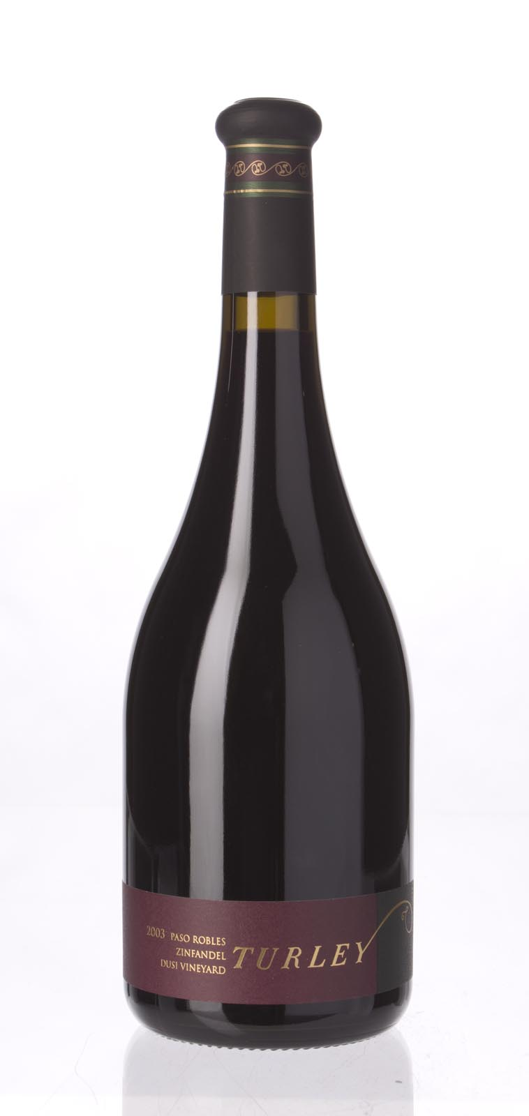Turley Wine Cellars Zinfandel Dusi Vineyard 2003, 750mL (WA88-91) from The BPW - Merchants of rare and fine wines.