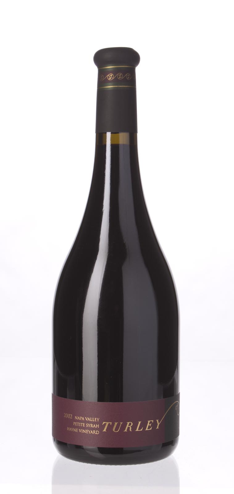 Turley Wine Cellars Petite Sirah Hayne Vineyard 2002, 750mL (WA93-95, ST93-95) from The BPW - Merchants of rare and fine wines.