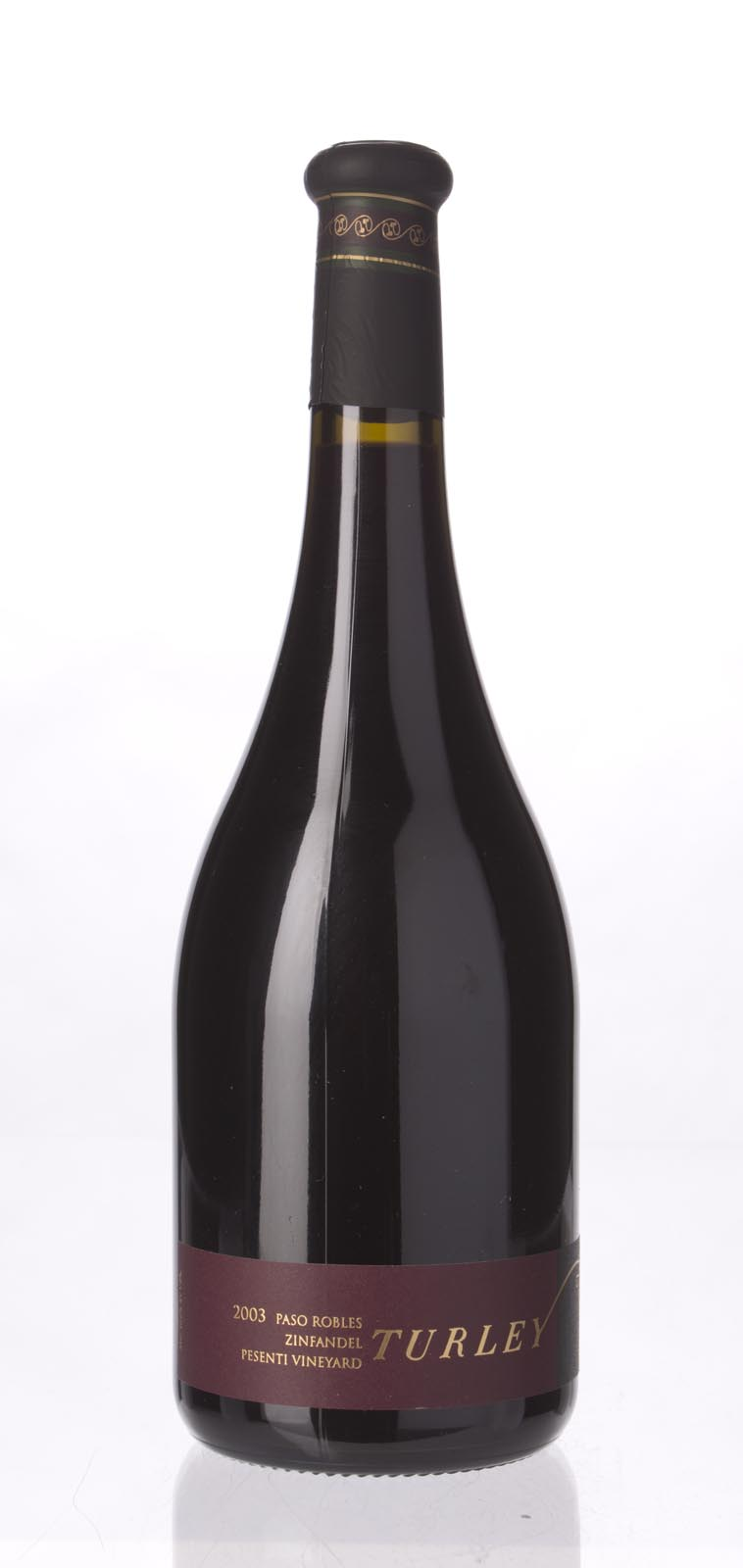 Turley Wine Cellars Zinfandel Pesenti 2003, 750mL (ST91) from The BPW - Merchants of rare and fine wines.