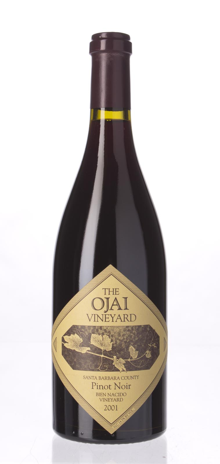 The Ojai Vineyard Pinot Noir Bien Nacido Vineyard 2001, 750mL (WS91) from The BPW - Merchants of rare and fine wines.