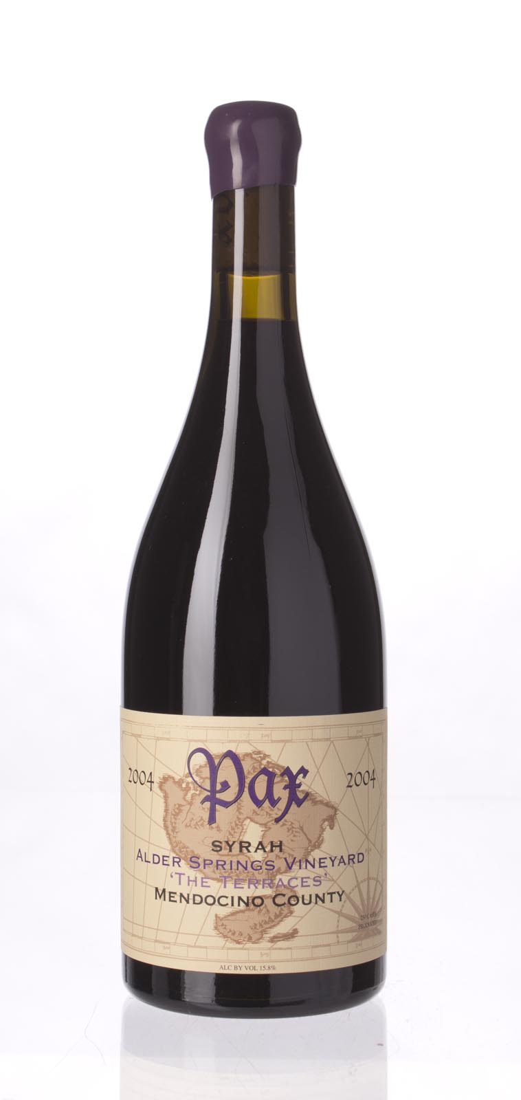 Pax Cellars Syrah Alder Springs Vineyard The Terraces 2004, 750mL (WA93) from The BPW - Merchants of rare and fine wines.