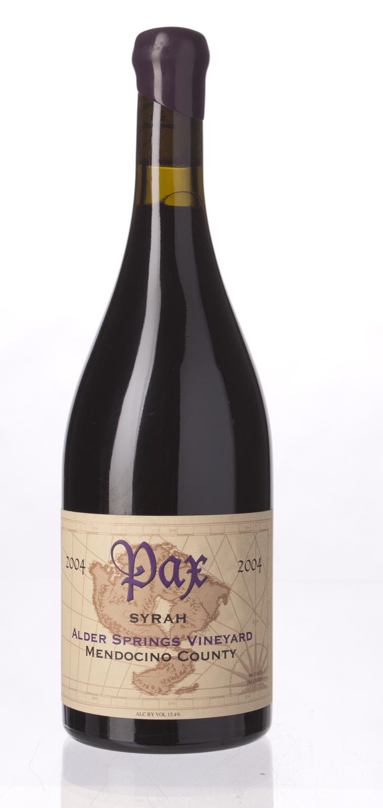 Pax Cellars Syrah Alder Springs Vineyard 2004, 750mL (ST91) from The BPW - Merchants of rare and fine wines.
