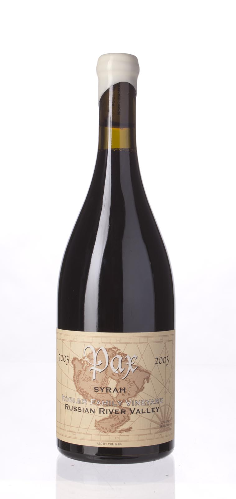 Pax Cellars Syrah Kobler Family Vineyard 2003, 750mL (WA92, ST93, WS92) from The BPW - Merchants of rare and fine wines.