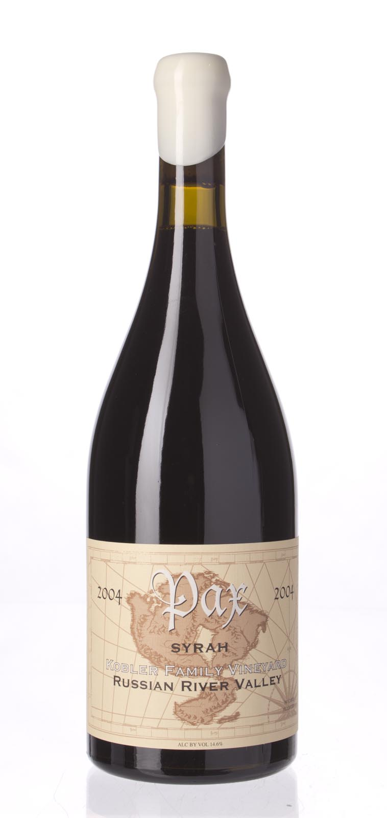 Pax Cellars Syrah Kobler Family Vineyard 2004,  (WA90, ST91+) from The BPW - Merchants of rare and fine wines.