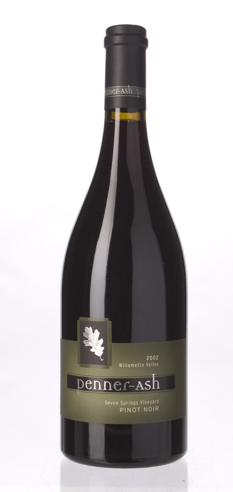 Penner Ash Pinot Noir Seven Springs Vineyard 2002, 750mL (ST91) from The BPW - Merchants of rare and fine wines.
