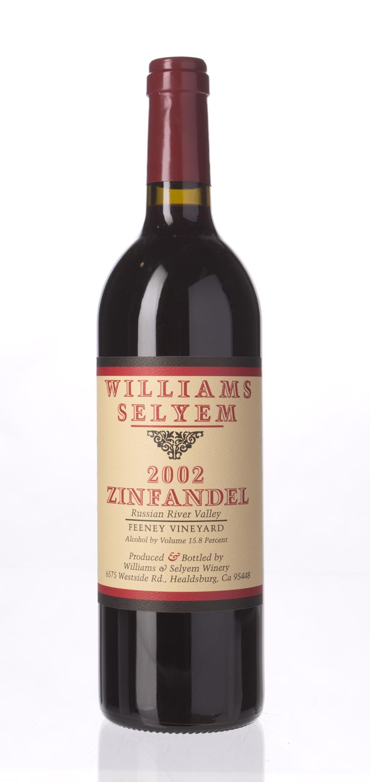 Williams Selyem Zinfandel Feeney Vineyard 2002, 750mL (WA90, ST91) from The BPW - Merchants of rare and fine wines.