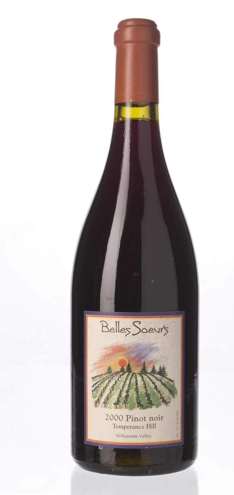 Beaux Freres Pinot Noir Belles Soeurs Temperance Hill 2000, 750mL () from The BPW - Merchants of rare and fine wines.