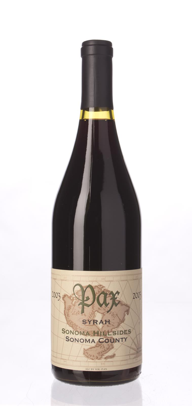 Pax Cellars Syrah Sonoma Hillsides 2003, 750mL () from The BPW - Merchants of rare and fine wines.