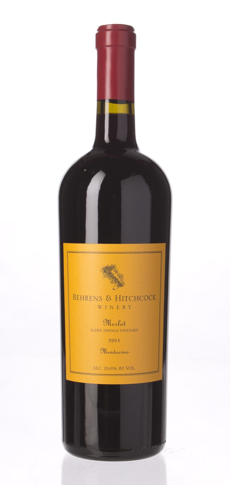 Behrens & Hitchcock Merlot Alder Springs Vineyard 2001, 750mL (ST90-92) from The BPW - Merchants of rare and fine wines.