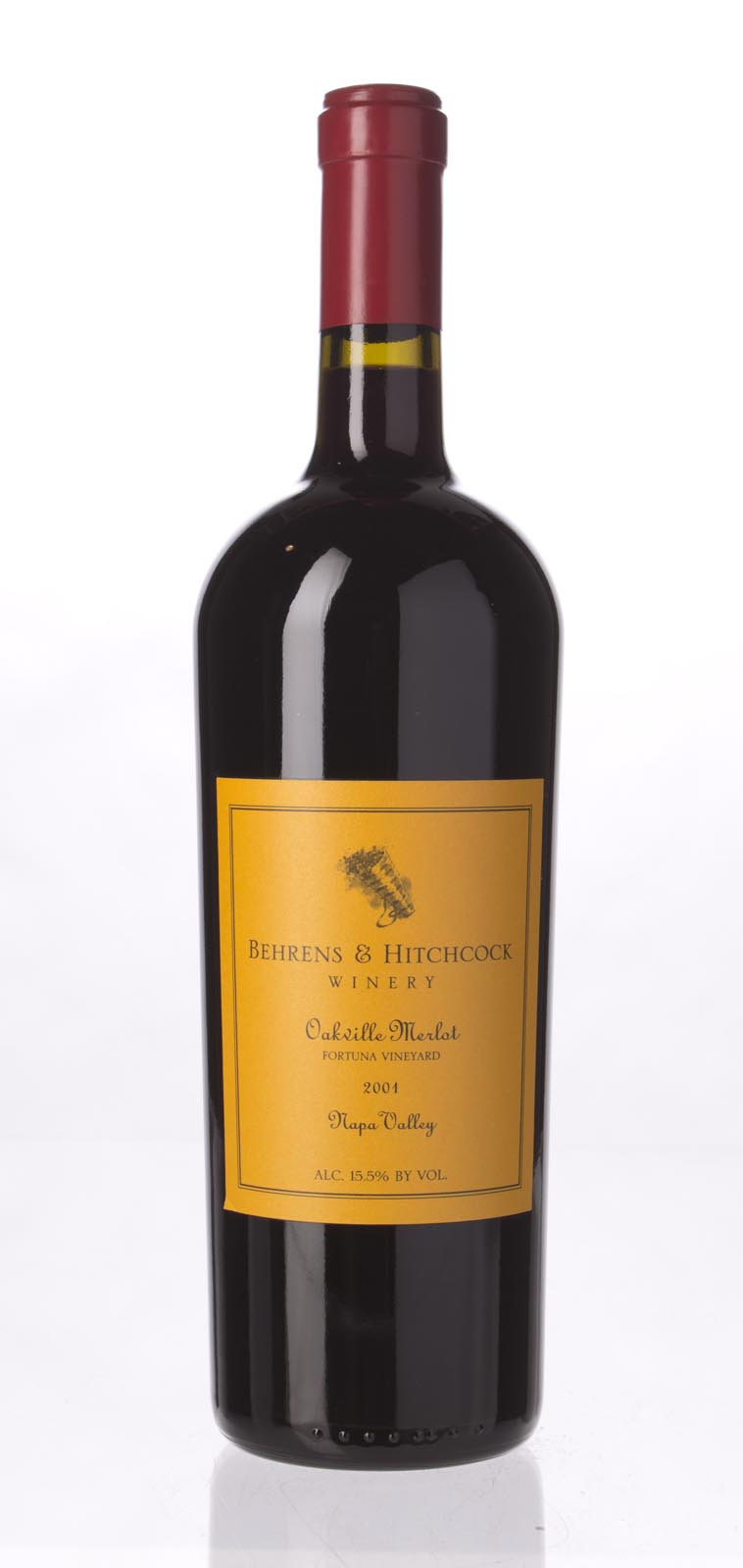 Behrens & Hitchcock Merlot Fortuna Vineyard 2001, 750mL (WS93) from The BPW - Merchants of rare and fine wines.
