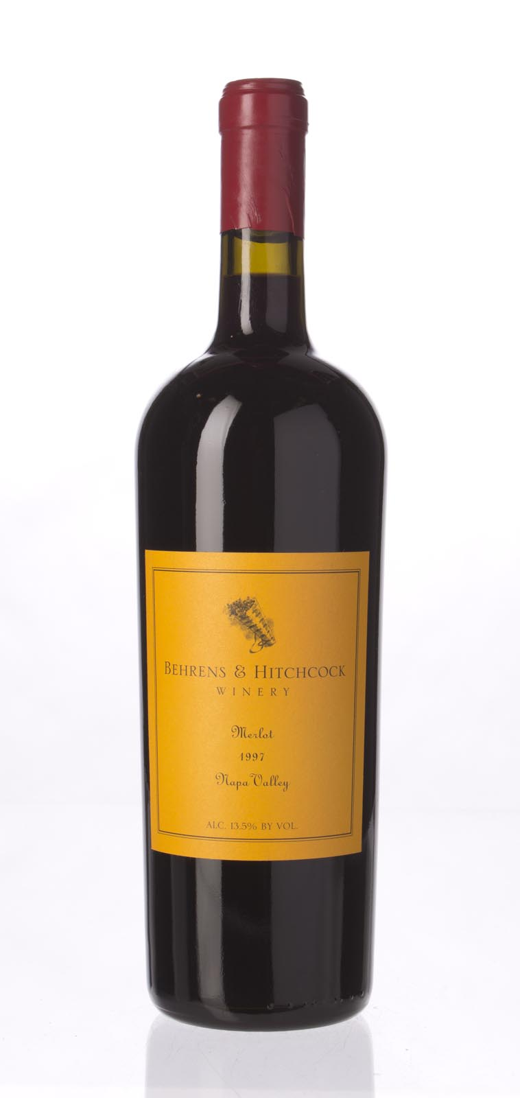 Behrens & Hitchcock Merlot Napa Valley 1997, 750mL (WA89-92) from The BPW - Merchants of rare and fine wines.