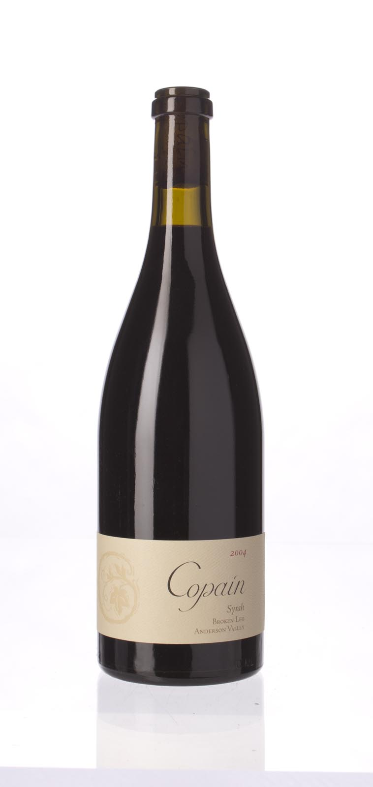 Copain Wines Syrah Broken Leg Vineyard 2004,  (WA94) from The BPW - Merchants of rare and fine wines.