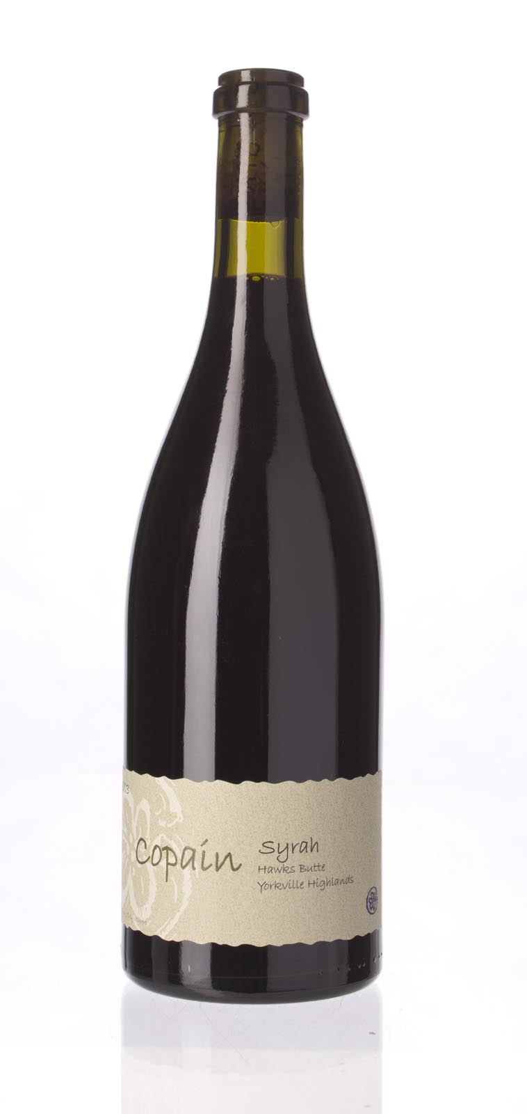 Copain Wines Syrah Hawks Butte 2003, 750mL (WA95) from The BPW - Merchants of rare and fine wines.