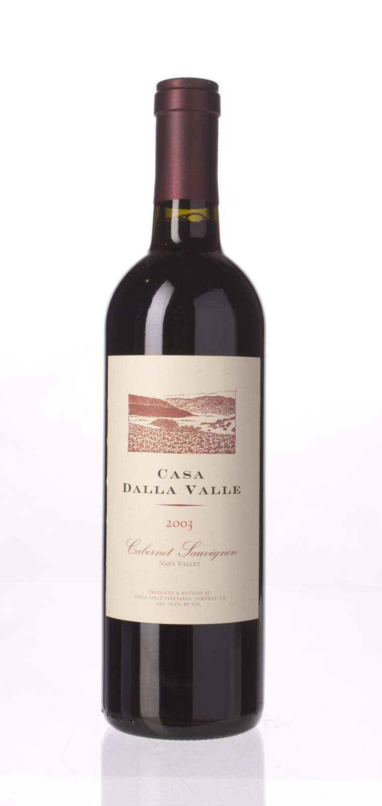 Dalla Valle Cabernet Sauvignon Casa Dalla Valle 2003, 750mL (WA88) from The BPW - Merchants of rare and fine wines.