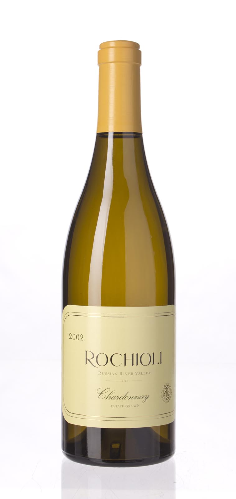 J. Rochioli Chardonnay Russian River Valley Estate 2002, 750ml (WS92) from The BPW - Merchants of rare and fine wines.