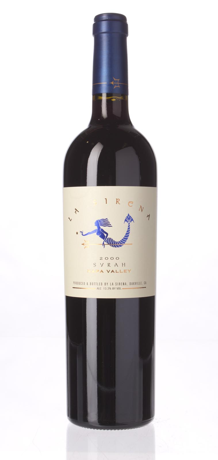 La Sirena Syrah Napa Valley 2000, 750mL () from The BPW - Merchants of rare and fine wines.