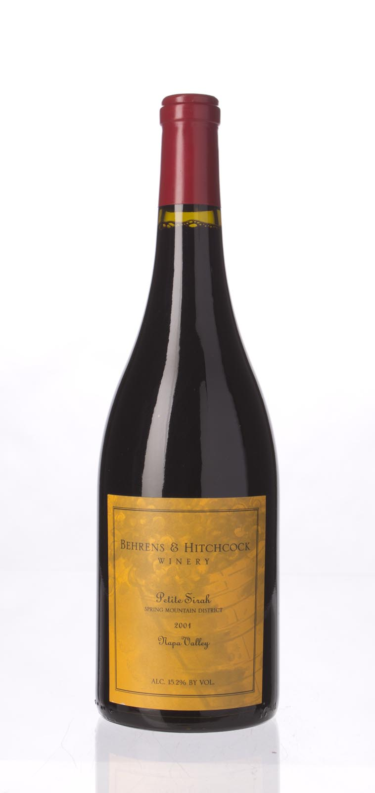 Behrens & Hitchcock Petite Sirah Spring Mountain 2001,  () from The BPW - Merchants of rare and fine wines.