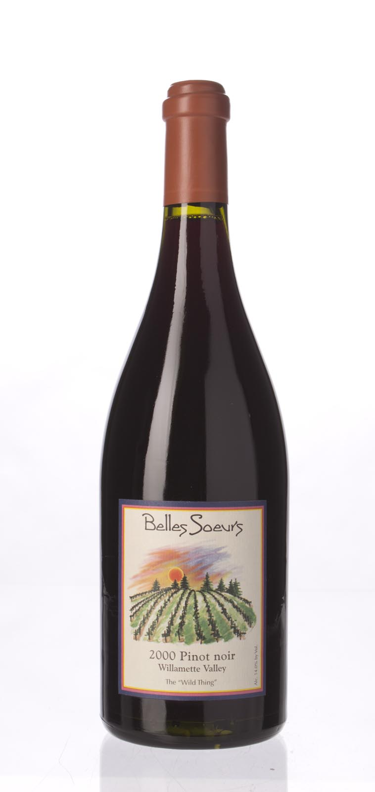 Beaux Freres Pinot Noir Belles Soeurs The Wild Thing 2000, 750mL () from The BPW - Merchants of rare and fine wines.